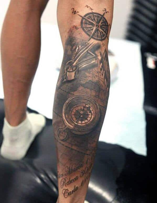 Top 75 best leg tattoos for men sleeve ideas and designs for Getting thigh tattoo