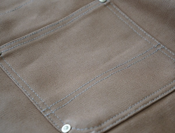 Back Pockets Carhartt Quilt Lined Zip To Thigh Bib Overalls For Men