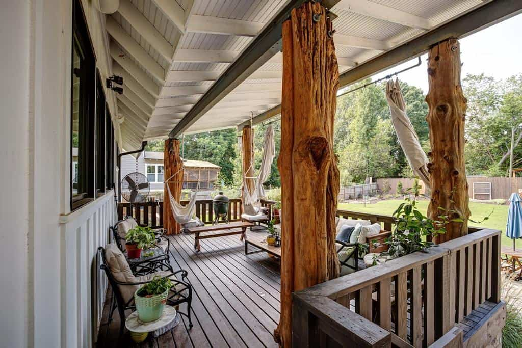 back porch covered patio ideas romahomes