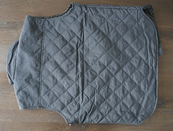 Back Qnyx Mens Dakota Grizzly Vic Quilted Vest