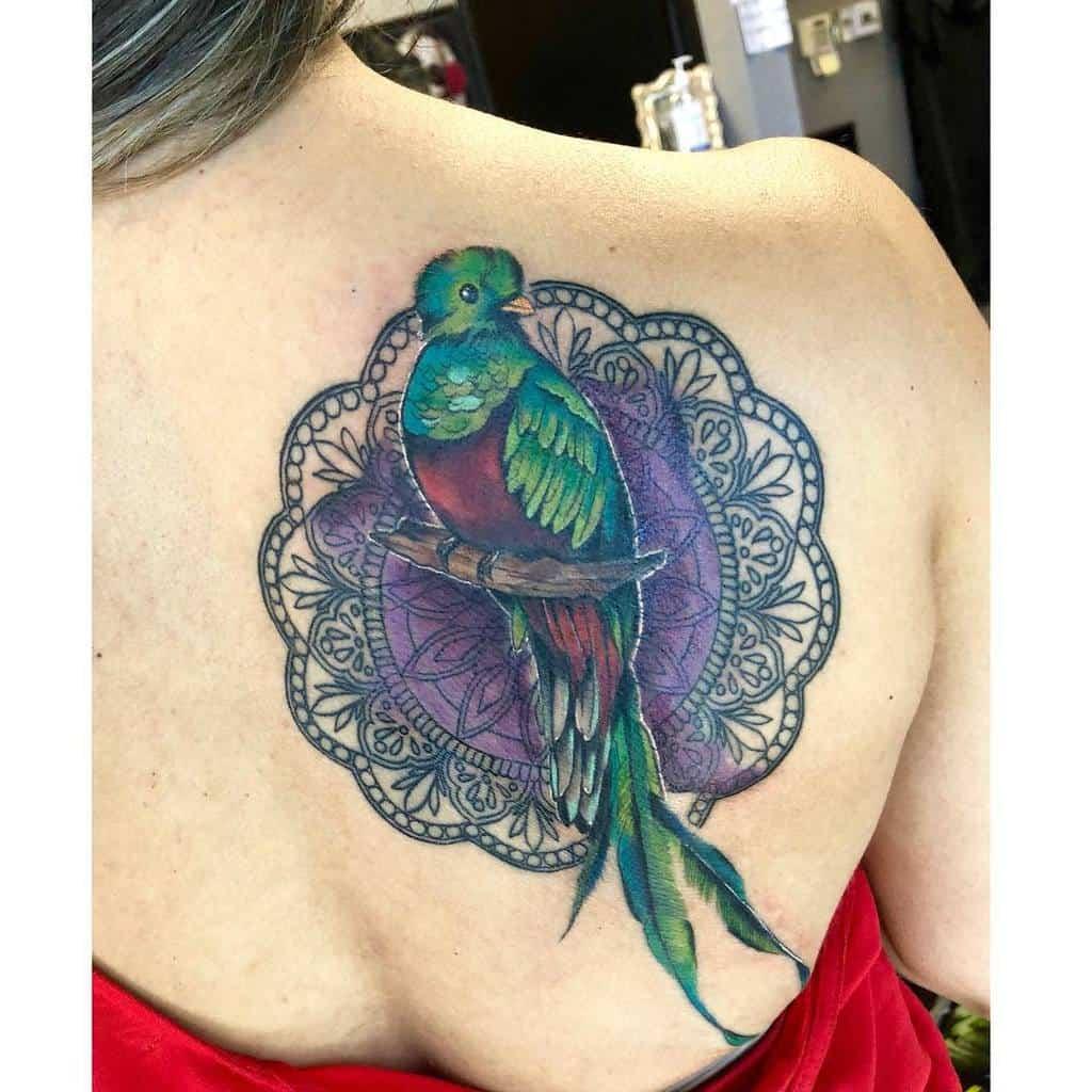 Back Quetzal Tattoos Mermaiidiisabelle