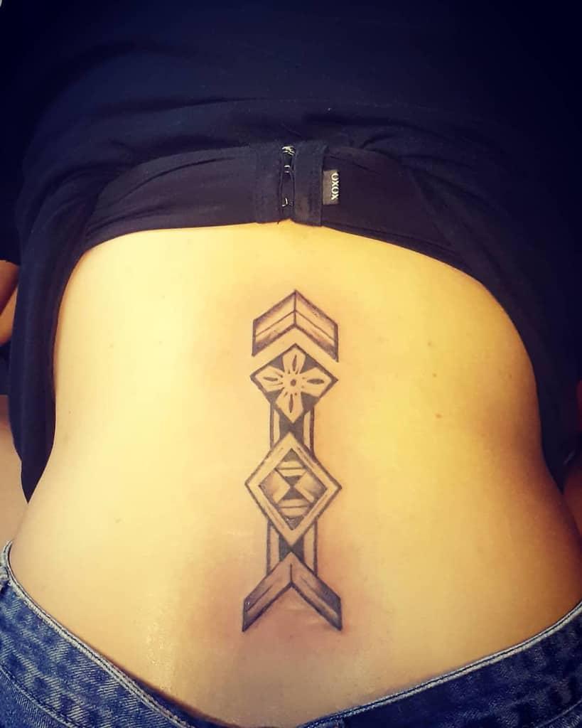back simple tribal tattoos tattoo_artist_joe_fj
