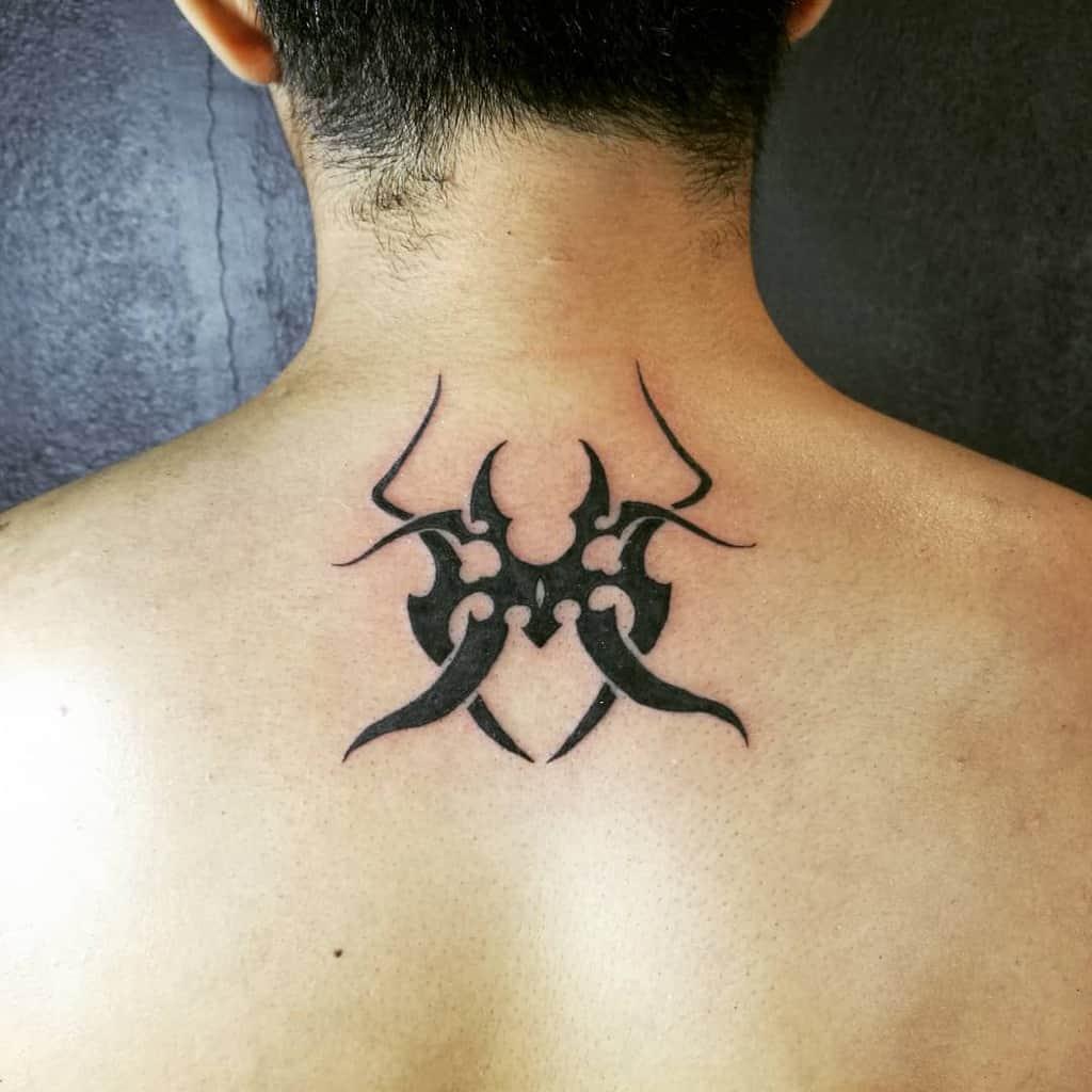 back simple tribal tattoos yihxing96