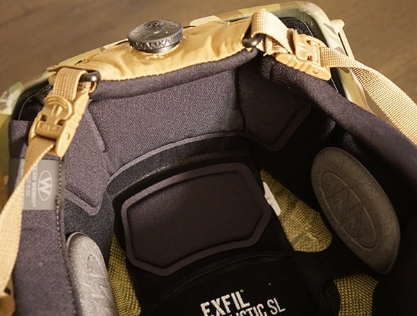 Back Standard Pads Team Wendy Exfil Sl Military Helmet