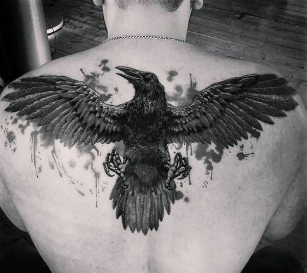 100 Raven Tattoo Designs For Men