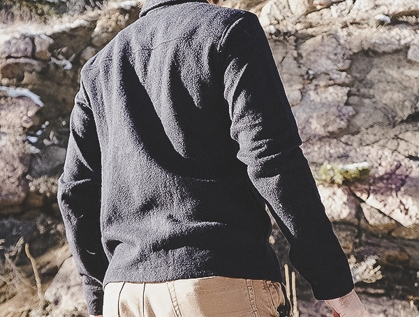 Back Topo Designs Wool Shirt For Men Review