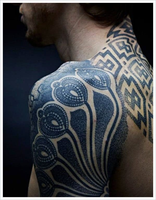 Back Tribal Tattoos For Men