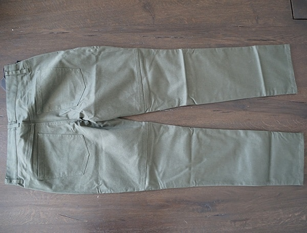 Back View Mens United By Blue Cartwright Pants In Olive