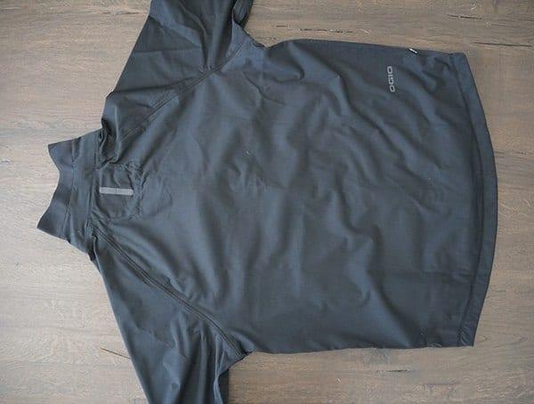 Back View Ogio All Elements Elite Rain Jacket For Men