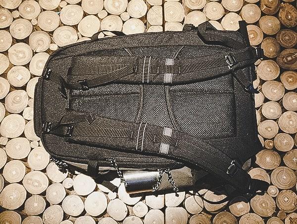 Back View Olive Ogio Alpha Convoy 525 Backpack Reviews