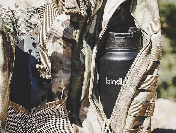 Backpack Bindle Bottle Review