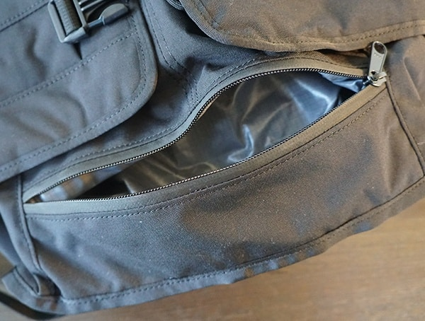Backpack Bottom Pocket Unzipped Mission Workshop The Rhake
