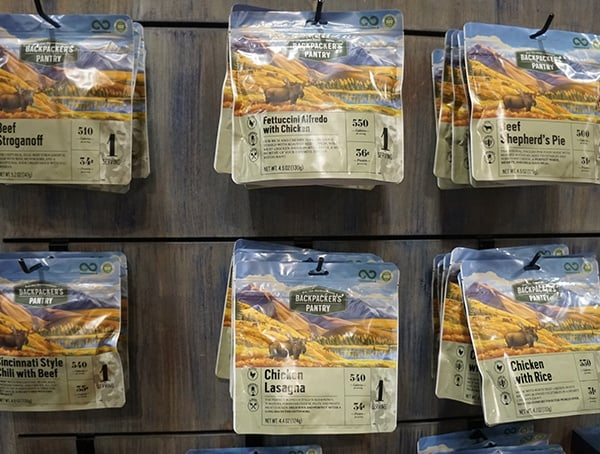 Backpackers Pantry Dehydrated Food Outdoor Retailer Summer Market 2018