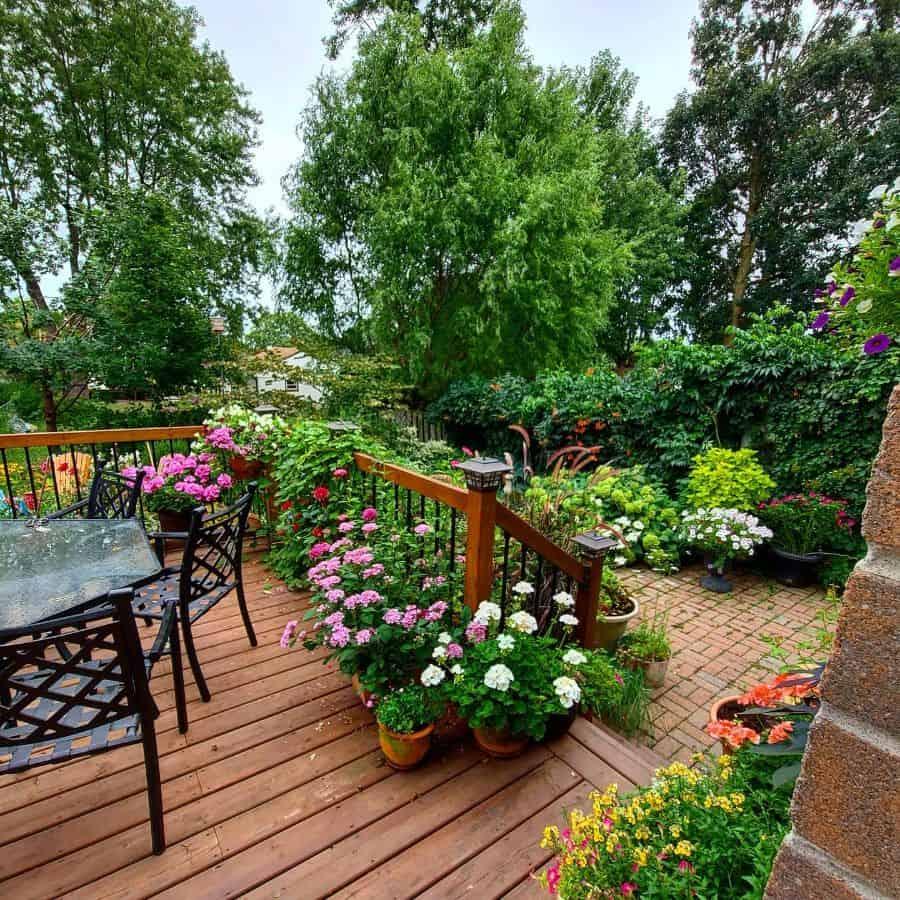 backyard container garden ideas through_the_garden_gate