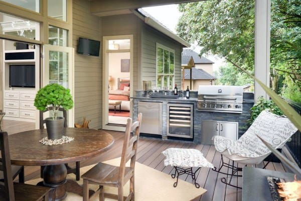 Backyard Deck Design Inspiration