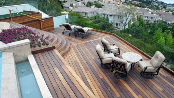 Backyard Deck Repair