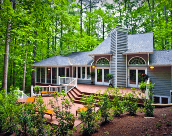 Backyard Deck Steps Ideas Inspiration