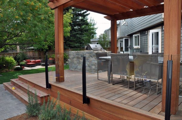 Backyard Decks And Landscaping