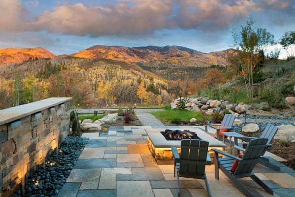 Backyard Designs Fire Pit Landscaping