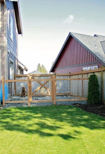 Backyard Designs For Dog Fence