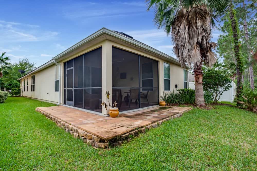 backyard enclosed patio ideas 1