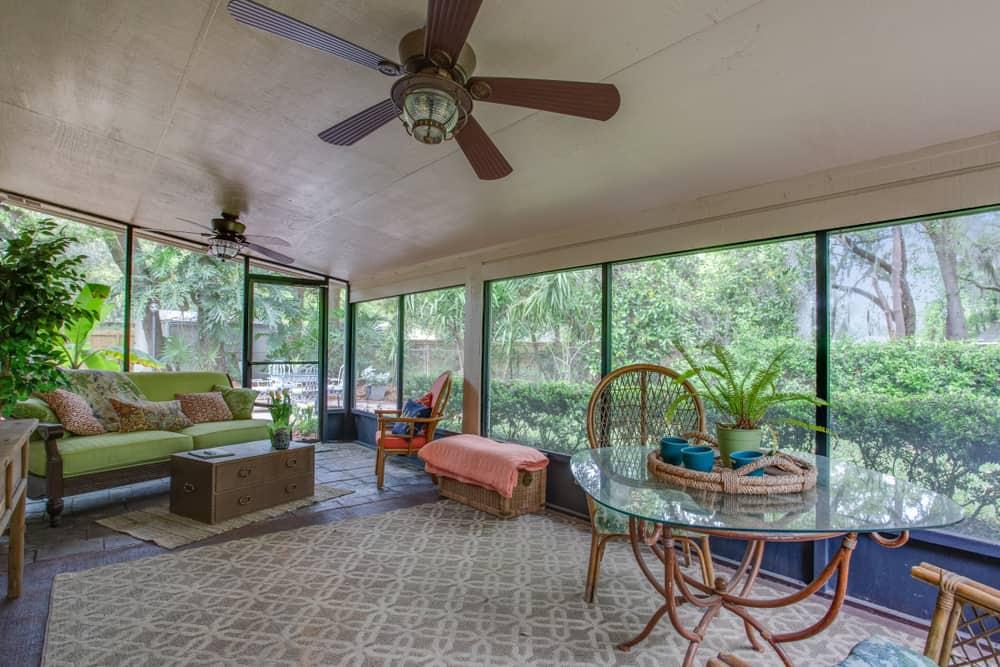backyard enclosed patio ideas 11