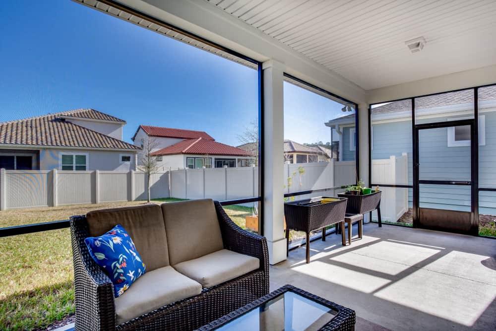 backyard enclosed patio ideas 12