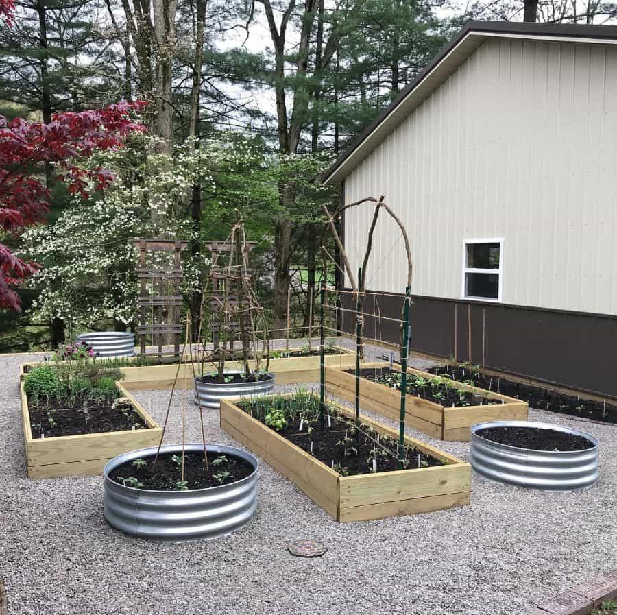 backyard farm raised garden bed ideas food_nature_haf