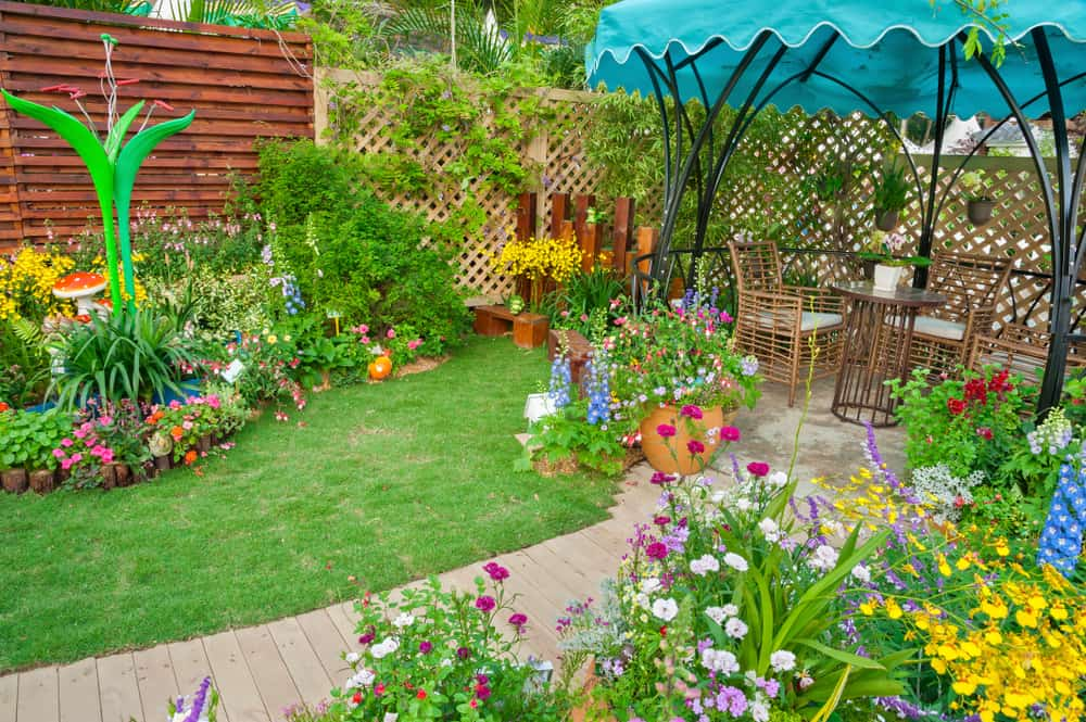 backyard garden flower garden ideas 2