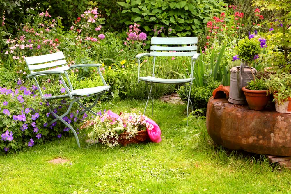 backyard garden flower garden ideas 3