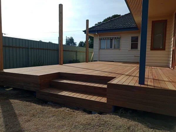 Backyard Ideas Floating Deck