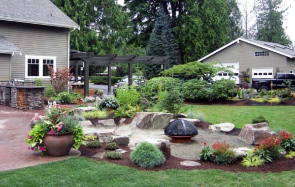 Backyard Ideas For Fire Pit Landscaping