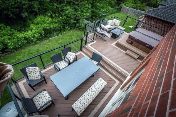 Backyard Ideas For Hot Tub Deck