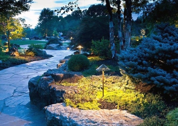 Backyard Ideas For Landscape Path Lighting