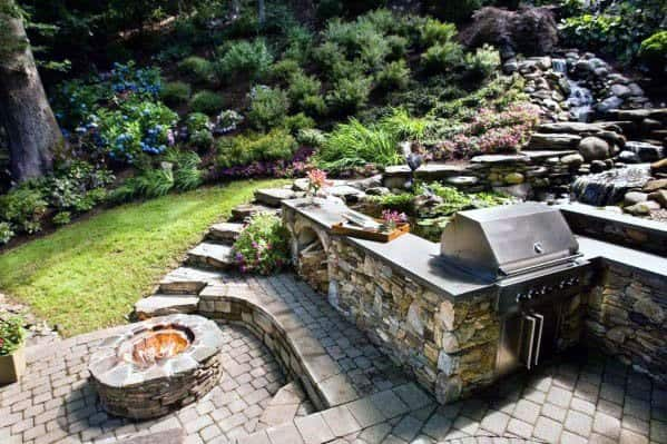 Backyard Ideas For Patio Firepit Outdoor