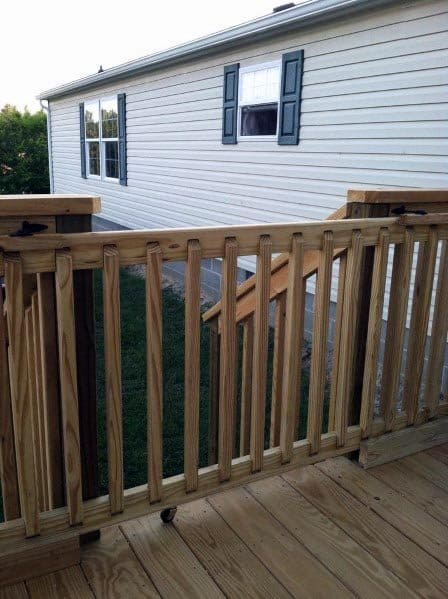 Backyard Ideas For Sliding Wood Deck Gate