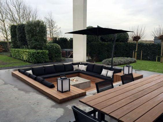 Backyard Ideas Modern Patio