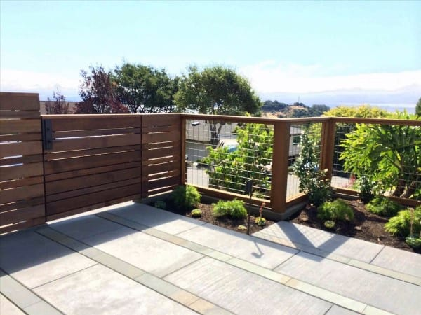 Top 50 Best Backyard Fence Ideas - Unique Privacy Designs on Backyard Landscaping Along Fence id=95526
