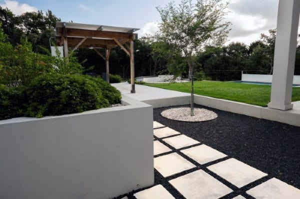 Backyard Modern Landscaping Designs