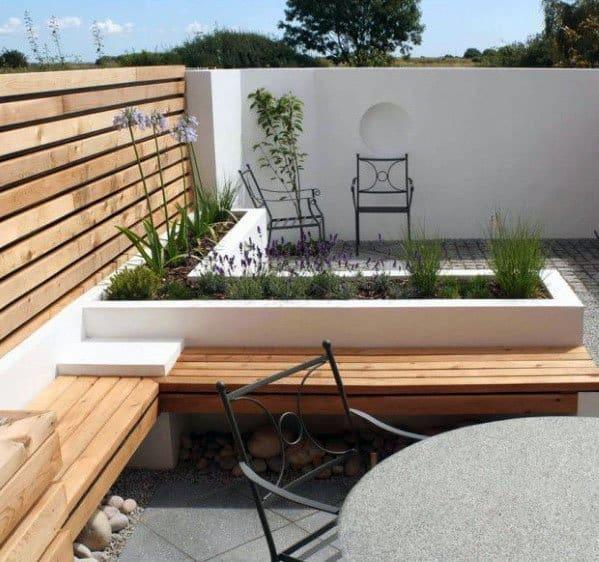 Backyard Modern Patio Design