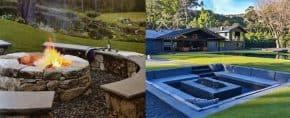 Top 60 Best Outdoor Fire Pit Seating Ideas – Backyard Designs