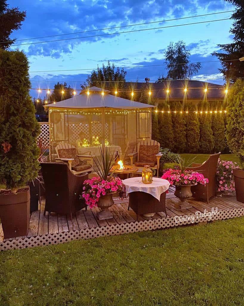 backyard patio deck ideas dining_delight