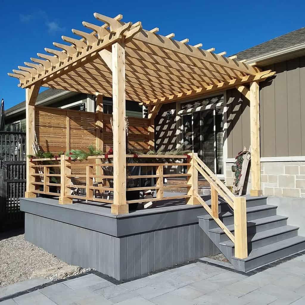backyard patio deck ideas industrialreworks