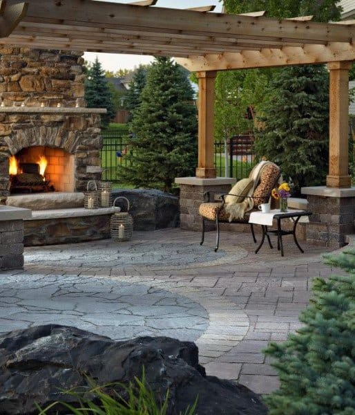 Backyard Patio Floor Ideas
