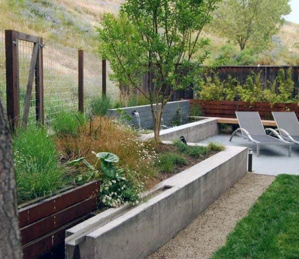 Backyard Patio Gravel Landscaping