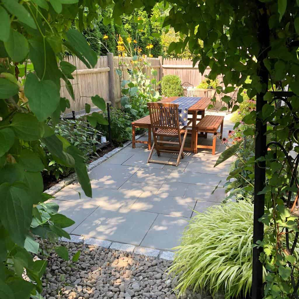 backyard patio small backyard ideas mcdermottlandscapedesign