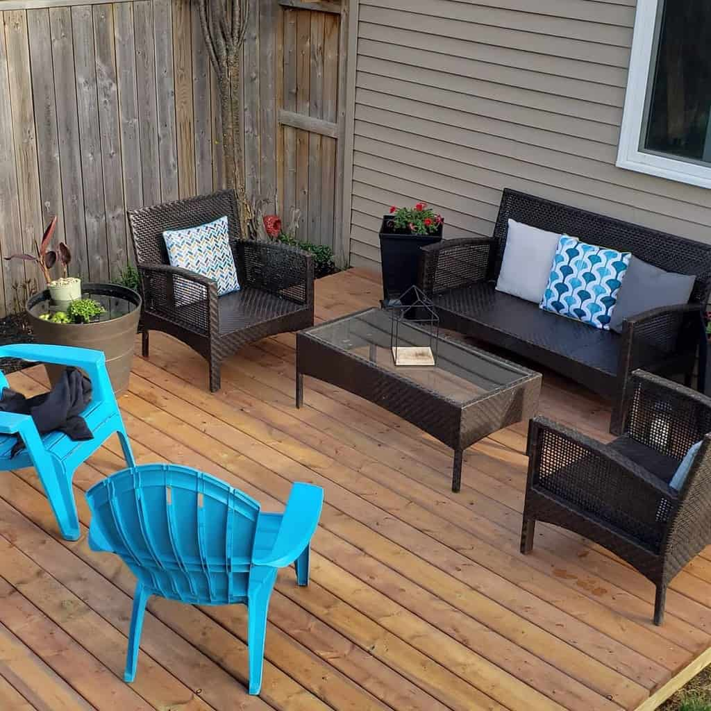 backyard patio small backyard ideas nadinewaterfield