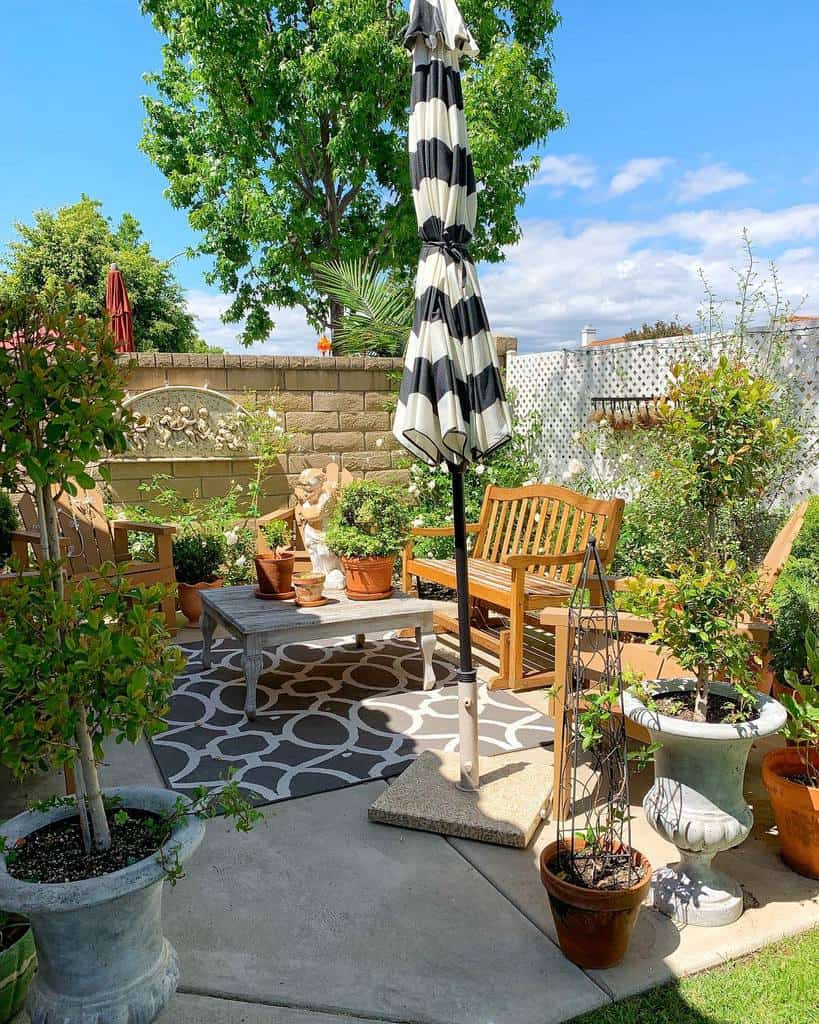 backyard patio small backyard ideas un.de.once