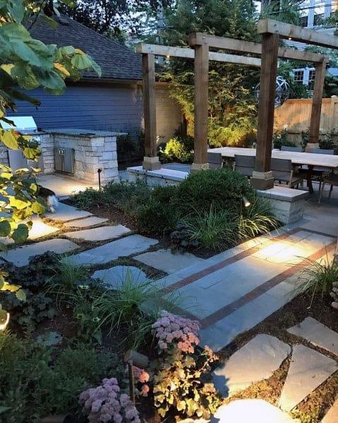 Backyard Patios Landscaping Lighting Ideas
