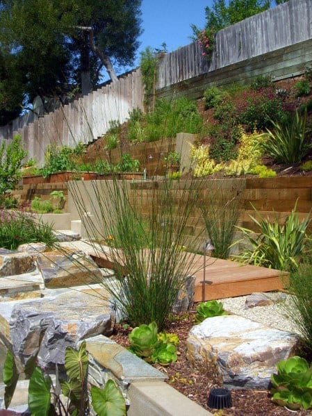 Backyard Plant Ideas For Slope Landscaping